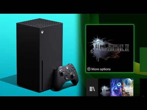 First Look At Xbox Series X Boot Up And UI