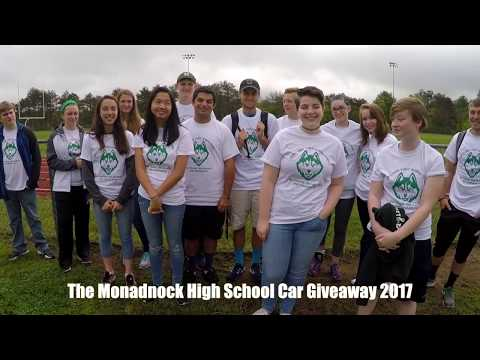 2017 Monadnock Regional High School Car Giveaway May 31st