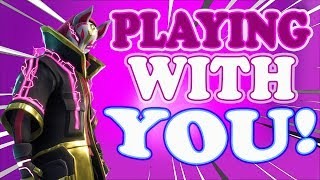 Playing With Subscribers (READ DESCRIPTION) //1600+WINS// Xbox one fortnite player live