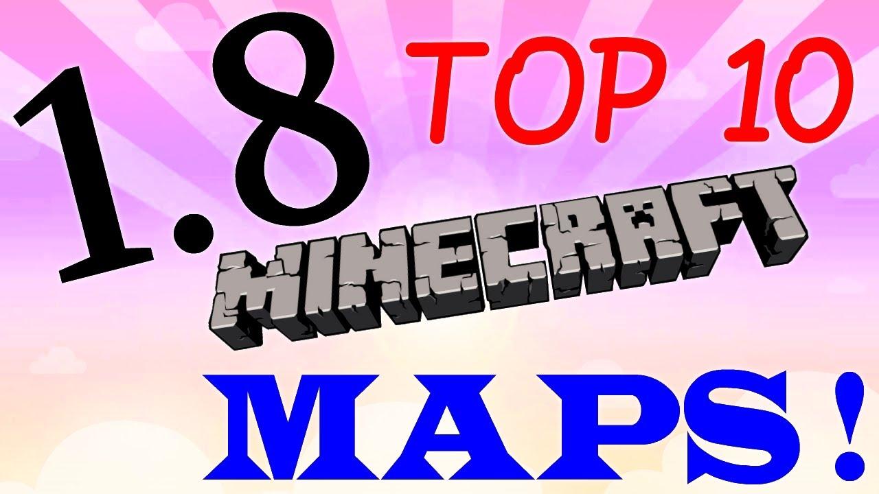 Minecraft [1.8]  Top 10 Maps Download  (AdventureSurvivalPuzzleParkour)