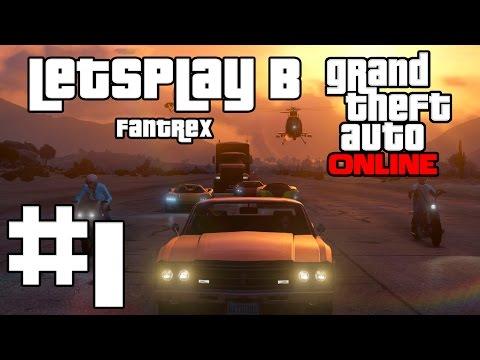 LetsPlay в GTA 5: Online: Серия #1 - Создание персонажа