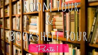 Room Tour & Bookshelf Tour - Parte 1   Nuvem Literária