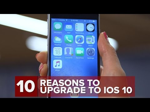 10 reasons to upgrade to iOS 10