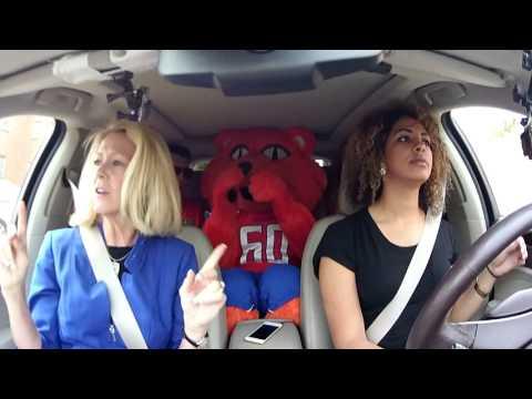 SHSU Car Karaoke with President Dana Hoyt