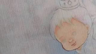 Como preencher a pele – Pintura em fraldas
