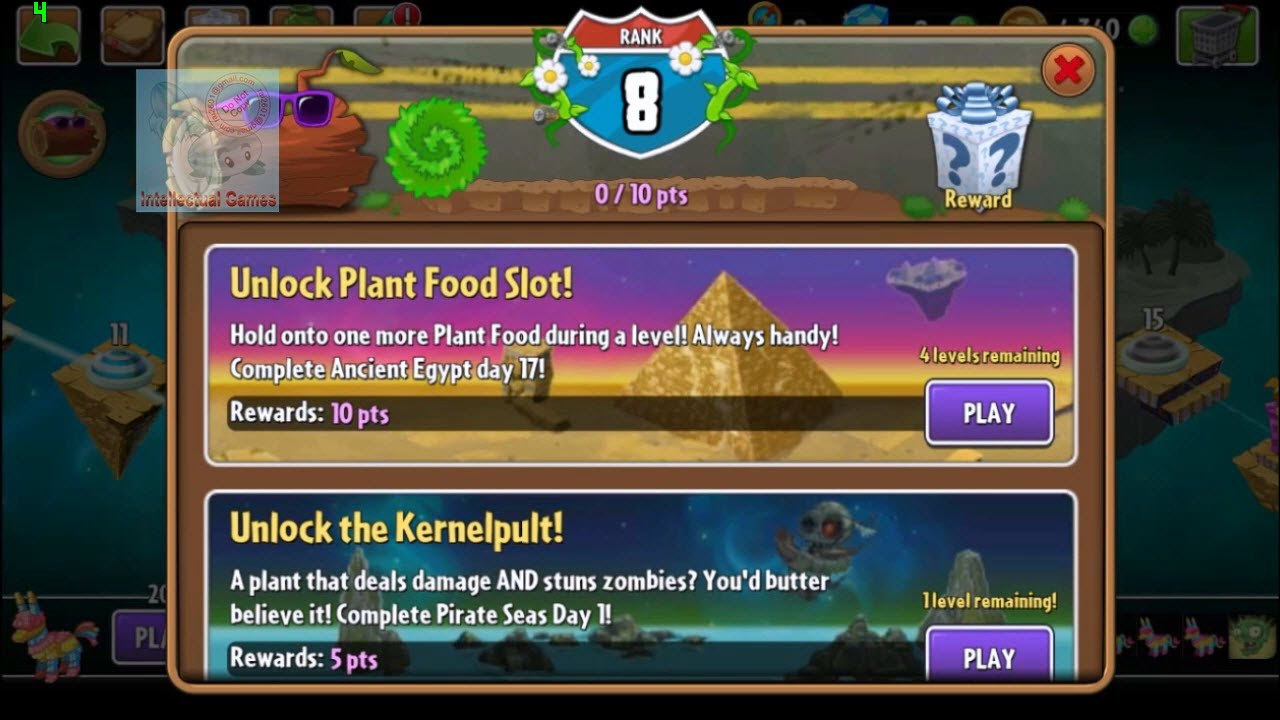 plants vs zombies 2 travel log completed quest 1 to 7
