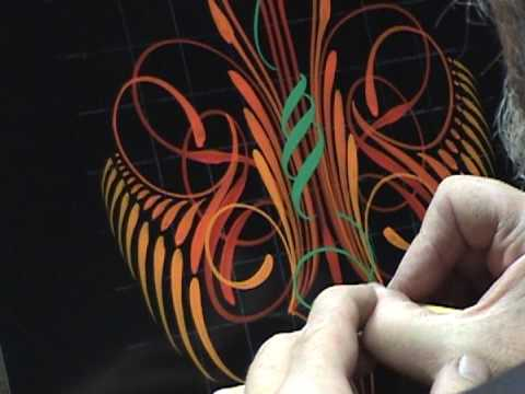 Kafka Pinstriping 5/2/09, Part 2/2