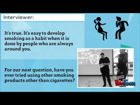 Interview On Harmful Effects of Smoking