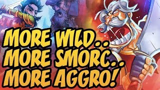 More Wild.. More Smorc.. More Aggro! | Rise Of Shadows | Hearthstone