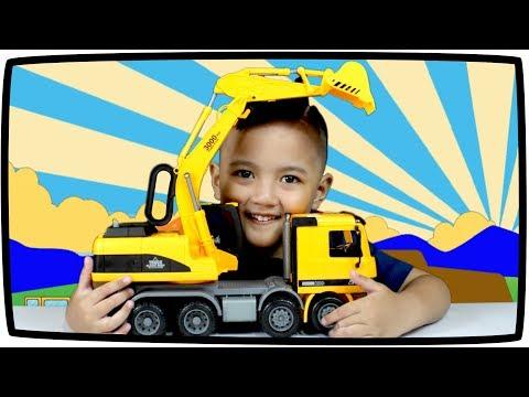 Mainan Mobil Beko Dan Mobil Truk Mainan Excavator Truck Construction