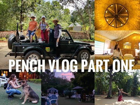Pench Travel Vlog- Part One| Holiday in Mowgli Land| Quest for Stripes