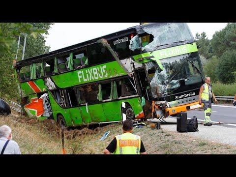 Flix Bus Unfall