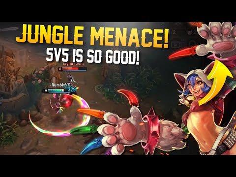 JUNGLE MENACE!! Vainglory 5v5 Gameplay - Koshka |CP| Jungle Gameplay