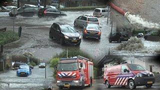Put overstroomd! - Veel Wateroverlast in Valkenburg a/d Geul!