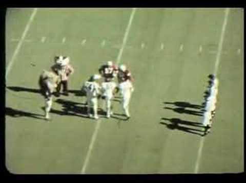 Northwestern University Football: TD Pass