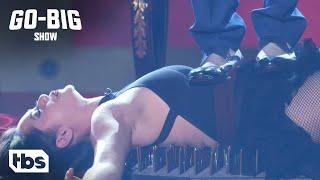 Go Big Show: Cody Rhodes Assists This Crazy Contestant (Clip) | TBS