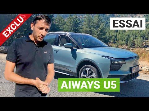 Essai AIWAYS U5 : la CORSE en SUV électrique