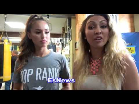 Top Rank Girl And Crystina Poncher Boxing Fans Are The Best  EsNews Boxing