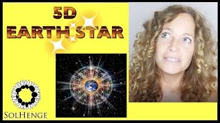 Guided meditation; The 5D Crystaline Earth star. Grounding energy | connection to our new light body