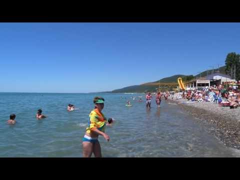 Летнее, прозрачное море. Первая половина июня. Лазаревское, 2016