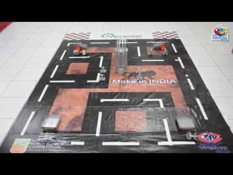 Robotics Competition at Tech Quest 2016 I BBPS Dwarka