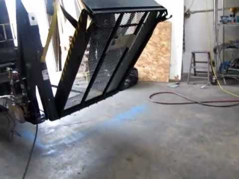 sold ricon 12v hydraulic wheelchair lift s2000 for van truck youtube