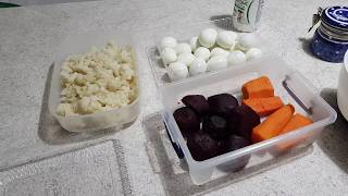 Предновогодняя заготовка еды: что я отварила 30го для салатов + рецепт диетического майонеза