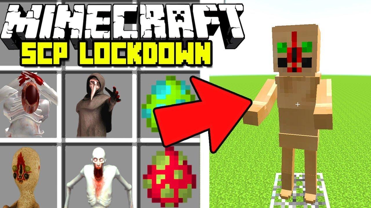 Minecraft SCP : NEW CONTAINMENT BREACH MOD! | SCP ...