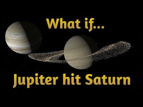 What If Jupiter Hit Saturn