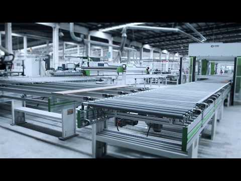 Totally Integrated Automation (TIA) System 4.0 In A Modern Chinese Furniture Making Factory 2018