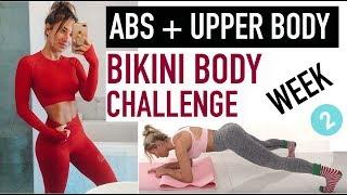 ABS + WAIST WORKOUT | Bikini Body Challenge, Week 2 by Vicky Justiz