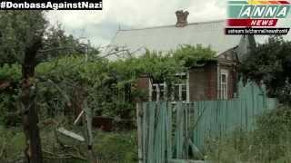 Славянск. Вот такие осколки убивают мирных жителей