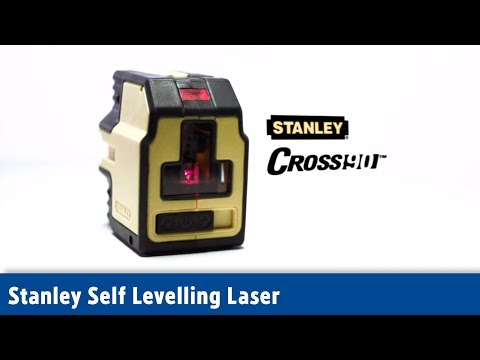 Stanley Self Levelling Cross Line & 90° Laser Level ¦ Screwfix