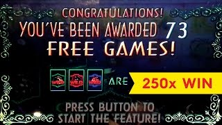 Three Kings Slot - HUGE WIN - Retrigger Bonus!