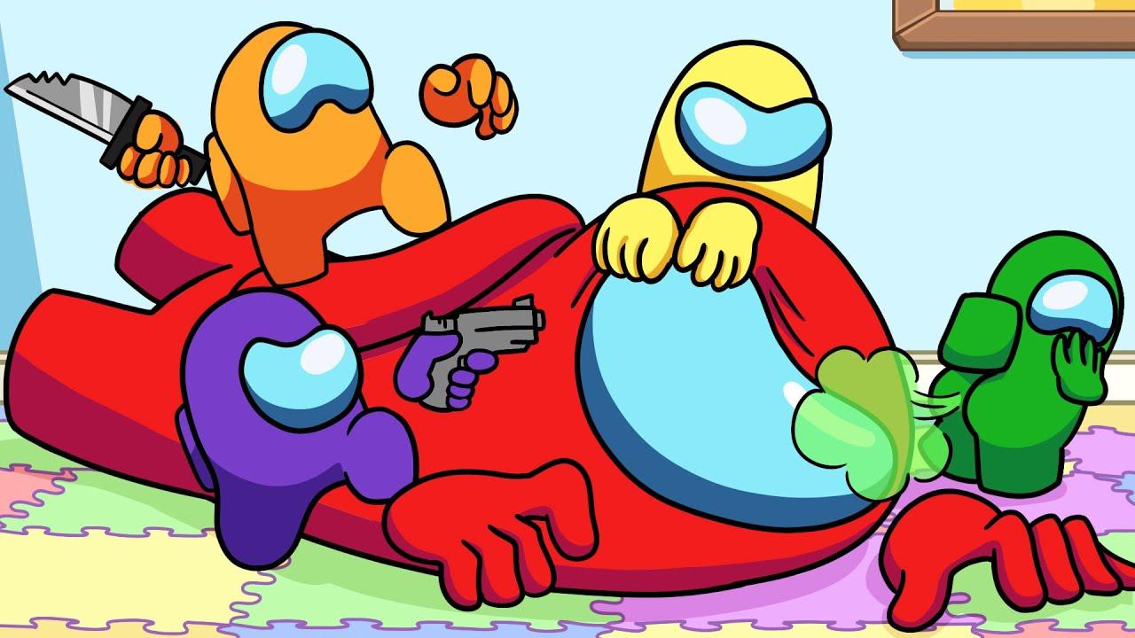 Among Us Logic: Daycare | Cartoon Animation