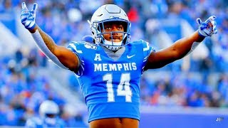 AAC's Human CHEAT CODE 👀 || Memphis WR/RB Antonio Gibson Highlights ᴴᴰ