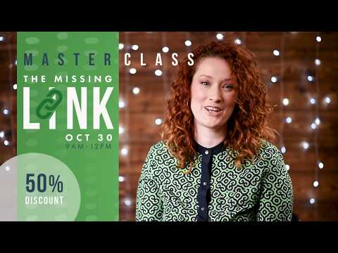 LIVE & IN PERSON: REGINA SK   The Missing Link Masterclass   Authentically