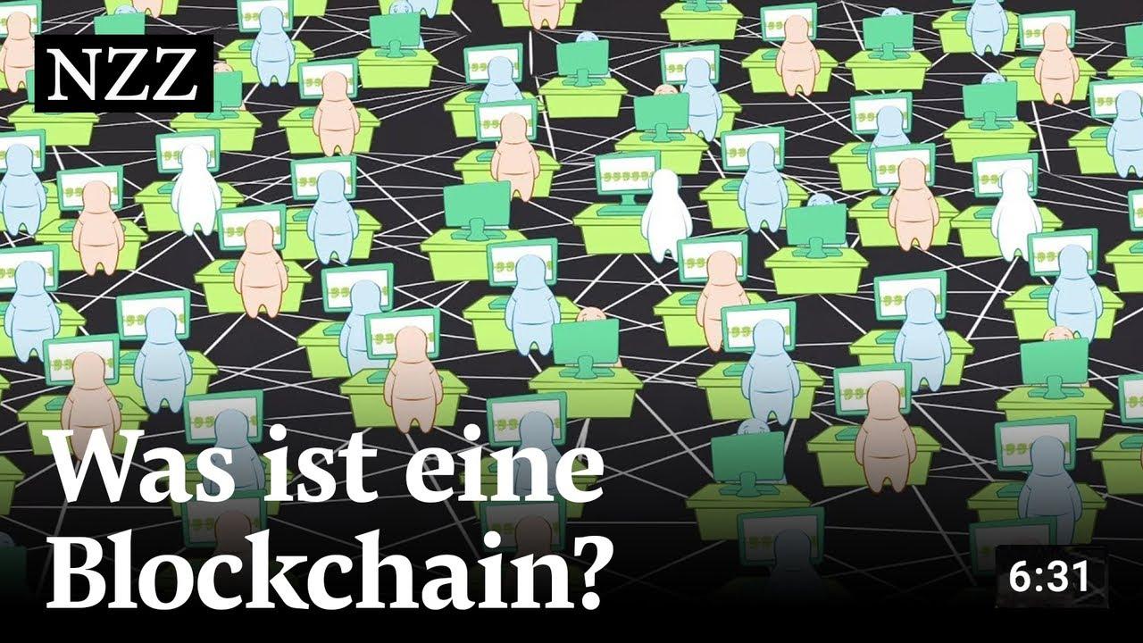 Was ist eine Blockchain? – einfach und verständlich erklärt | NZZ