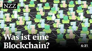 Was ist eine Blockchain? – einfach und verständlich erklärt   NZZ