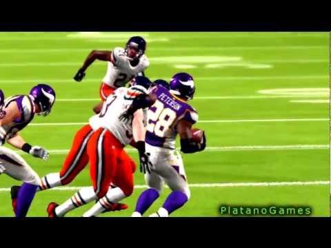 NFL 2012 Week 14 - Chicago Bears (8-4) vs Minnesota Vikings (6-6) - 3rd Qrt - Madden