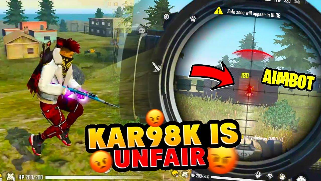 Kar98k is Unfair  (Like Hacker) || Biometric  ka Jalwa || Desi Army