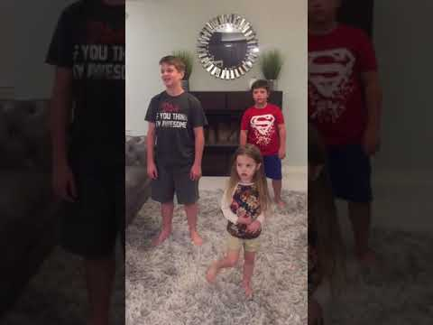 Little sister wants to dance throwback