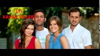 TOP 30 Most Watched Turkish Tv Series (топ-30 турецкий сериал)