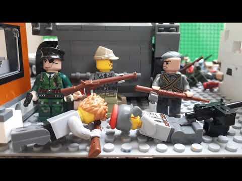 Лего Вторая мировая война  отряд ,,Береза