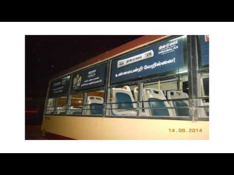 Chennai Bus Advertising in India