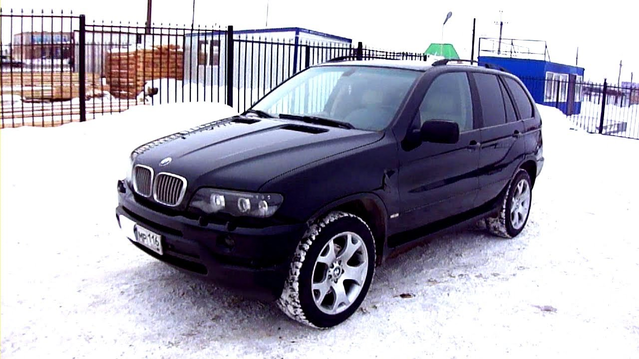 2001 БМВ X5 3.0L. Обзор (интерьер, экстерьер). - YouTube