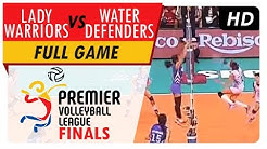 Lady Warriors vs. Water Defenders | Full Game | 5th Set | PVL Finals | June 13, 2017