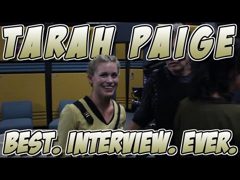 Tarah Paige - Best. Interview. EVER.