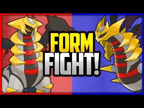 Giratina: Altered vs Origin | Pokémon Form Fight
