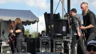 In Flames - Delight and Angers LIVE River City Rockfest San Antonio, Tx. 5/24/15
